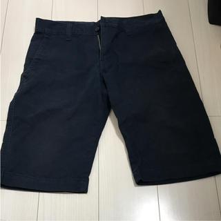 ムジルシリョウヒン(MUJI (無印良品))の無印良品 ハーフパンツ ショートパンツ  紺色 メンズ  M used(ショートパンツ)