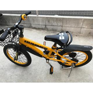 ハマー(HUMMER)のHUMMERキッズ自転車16インチ(自転車)