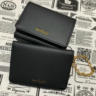 シマムラ(しまむら)のミニ財布&パスケースセット♡(財布)
