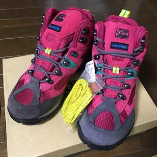 ジーティーホーキンス(G.T. HAWKINS)のトレッキングブーツ ピンク(登山用品)