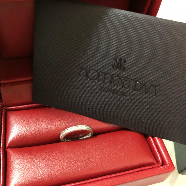 Cartier(カルティエ)の超お値下げ❤️MONNICKENDAM❤️ダイヤリング レディースのアクセサリー(リング(指輪))の商品写真