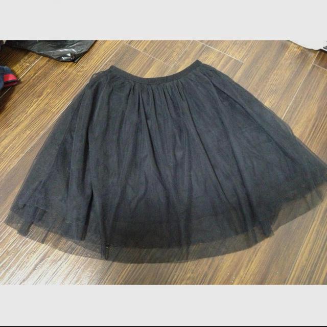 GU(ジーユー)の格安価格*チュールスカート レディースのスカート(ミニスカート)の商品写真