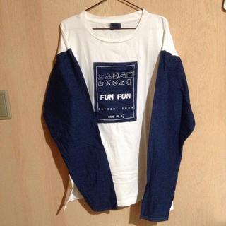 サントニブンノイチ(サントニブンノイチ)のサントニブンノイチ funfun ロンT(Tシャツ(長袖/七分))