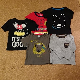 キッズ Tシャツ 5枚セット 2-3歳