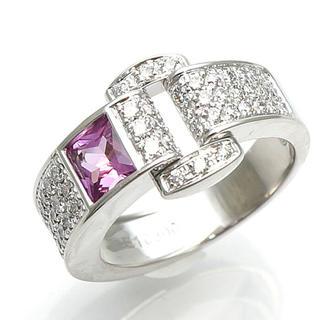 ピアジェ(PIAGET)の正規品 ピアジェ  ピンクトルマリンダイヤモンドリング(リング(指輪))