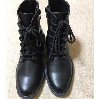 ジーユー(GU)のブーツ 黒 新品未使用です😊(ブーティ)