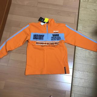バッドボーイ(BADBOY)の新品未使用タグ付き 140 トレーナー BAD BOY(Tシャツ/カットソー)