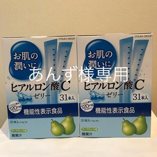 アースバイオケミカル(アースバイオケミカル)のヒアルロンC酸ゼリー2箱セット(コラーゲン)