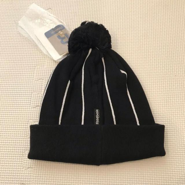 Reebok(リーボック)の新品 未使用 リーボック ニット帽 帽子 スポーツ/アウトドアのスキー(その他)の商品写真