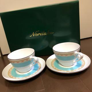 ノリタケ(Noritake)のノリタケ カップ&ソーサー ペアセット 新品(食器)