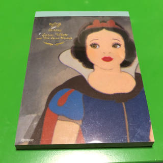 シラユキヒメ(白雪姫)の白雪姫 メモ帳/エヴィルクイーン ネームカード・封筒セット(その他)