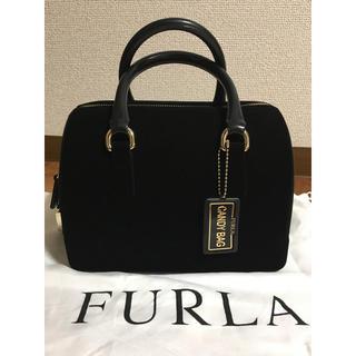 フルラ(Furla)のゆら*様専用 美品 FURLA フルラ 銀座限定 キャンディバッグ ベロア(ハンドバッグ)