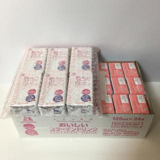モリナガセイカ(森永製菓)の森永 おいしいコラーゲンドリンク ピーチ味 125ml×30本 天使の健康(コラーゲン)