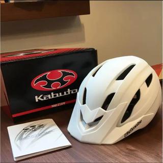 オージーケー(OGK)の美品 サイクル ヘルメット 自転車  kabuto サイズM/L(ウエア)