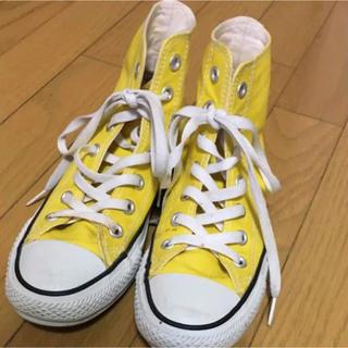 コンバース(CONVERSE)のコンバース 黄色 イエロー(スニーカー)