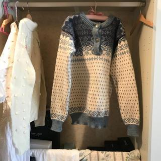 最終価格⛲️💙vintage L.L.Bean knit.
