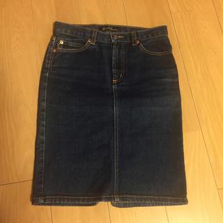 アールジーン(Earl Jean)のアールジーン 超美品デニムスカート(ひざ丈スカート)