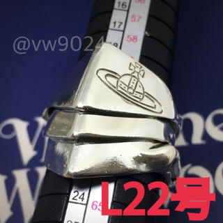 ヴィヴィアンウエストウッド(Vivienne Westwood)のナックルダスターリング  L22号(リング(指輪))
