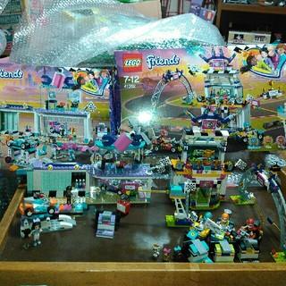 レゴ(Lego)のLEGO41351.41352ハートレイクグランプリ デコレーションショップ美品(その他)
