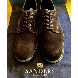 サンダース(SANDERS)の【ブランド破格】SANDERS 人気スエード素材(ブーツ)