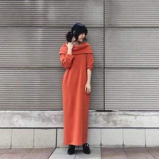 ケースリー(k3)のk3&co.   SWEAT OFF SHOULDER DRESS(ロングワンピース/マキシワンピース)