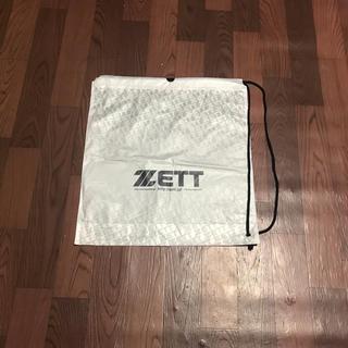 ゼット(ZETT)のゼット ショップ袋 2枚組 ショッピングバック ナップサック 巾着 デイバッグ(その他)