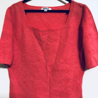 オフオン(OFUON)の半袖ニット  ofuon サイズ40(ニット/セーター)