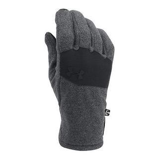 アンダーアーマー(UNDER ARMOUR)のアンダーアーマー 手袋 グローブ MD グラファイト ブラック メンズ 防寒(手袋)