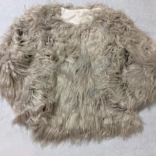 シックウィッシュ(Chicwish)のシックウィッシュ 新品 フェイクファ−ジャケット(毛皮/ファーコート)