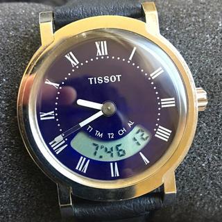 ティソ(TISSOT)のTISSOT ティソ デジアナ メンズクオーツ 腕時計 (腕時計(アナログ))