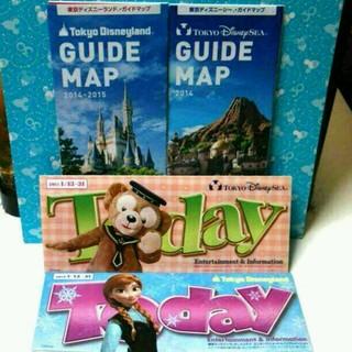 ディズニー(Disney)のディズニー 最新のTodayとマップ(その他)