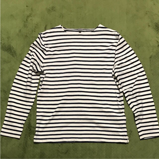 ムジルシリョウヒン(MUJI (無印良品))の無印良品 ボーダーカットソー(Tシャツ/カットソー(七分/長袖))