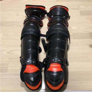 ハタケヤマ(HATAKEYAMA)のキャッチャー 防具 レガース 硬式用(防具)