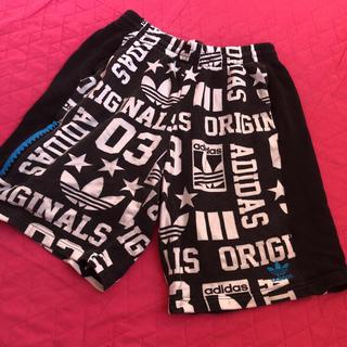 アディダス(adidas)のadidas originals アディダス ロゴ ハーフパンツ(ショートパンツ)
