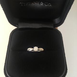 ティファニー(Tiffany & Co.)の【3EX ハーモニー】プラチナ一粒ダイヤリング7号(リング(指輪))