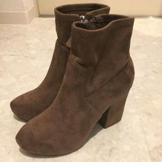 ココディール(COCO DEAL)のスエードショートブーツ(ブーツ)