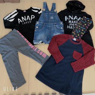 アナップキッズ(ANAP Kids)の女の子服まとめ売り/100〜120(Tシャツ/カットソー)