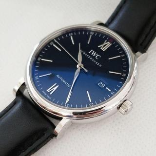 インターナショナルウォッチカンパニー(IWC)のIWC ポートフィノ黒ブラック40★IW356502 内外箱 説明書おまけベルト(腕時計(アナログ))
