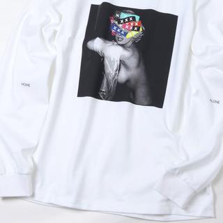 ジィヒステリックトリプルエックス(Thee Hysteric XXX)の最新作 GOD SELECTION XXX L/S ホワイトM(Tシャツ/カットソー(七分/長袖))