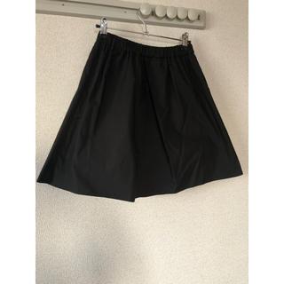 エベルモーション(EBELE MOTION)のシャカシャカ素材 スカート(ミニスカート)
