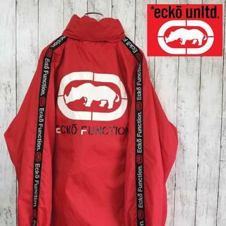 エコーアンリミテッド(ECKŌ UNLTD(ECKO UNLTD))の【90sデザイン】エコーファンクション Lサイズ ナイロンジャケット(ナイロンジャケット)