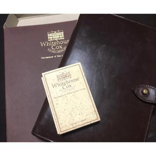 ホワイトハウスコックス(WHITEHOUSE COX)のホワイトハウスコックス  システム手帳 カバー ハバナ(手帳)