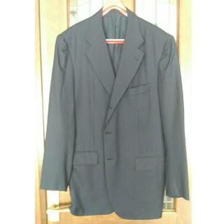 キトン(KITON)のキトンKitonキートンsuper180'sジャケットコート50濃紺ストライプ1(テーラードジャケット)