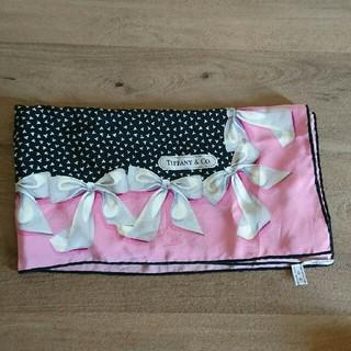 ティファニー(Tiffany & Co.)のティファニー リボンピンク スカーフ (バンダナ/スカーフ)