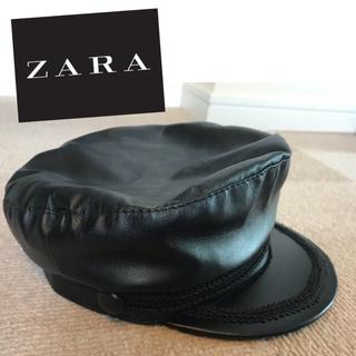 ザラ(ZARA)のZARA 帽子 キャップ キャスケット(キャスケット)