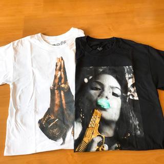 ネフ(Neff)のレディース  ティーシャツ 2枚組(Tシャツ(半袖/袖なし))