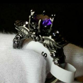 リング ドクロ 指輪 レディースアクセサリー メンズアクセサリー アクセサリー(リング(指輪))