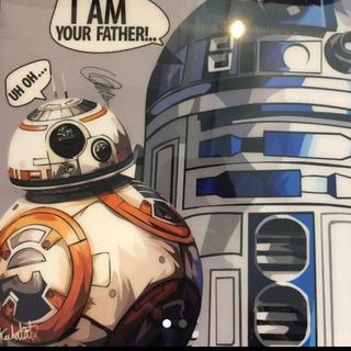 BB-8&R2-D2 パネルアート STARWARS(パネル)