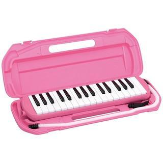 j74 鍵盤ハーモニカ 32鍵 ピンクピアニカ       (アコーディオン)