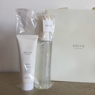 シロ(shiro)の⚘新品⚘shiro ハンドクリーム、ボディコロン(ハンドクリーム)